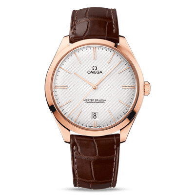 OMEGA De Ville Tresor Master Co-Axial Rose Gold Automatic Men's Watch 432.53.40.21.02.002