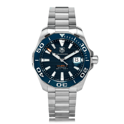 TAG HEUER Aquaracer Automatic Stainless Steel Blue Dial Mens Watch WAY211C.BA0928