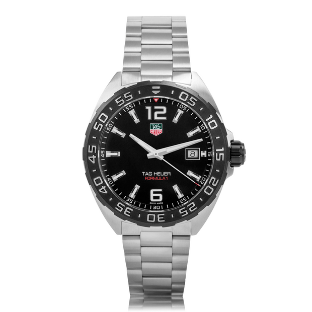 TAG HEUER Formula 1 Stainless Steel Quartz Mens Watch Waz1110.Ba0875
