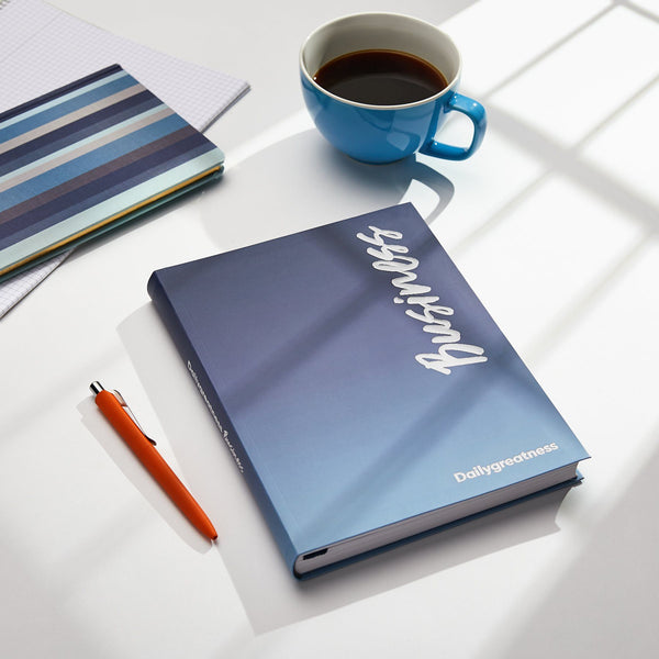 Dailygreatness Business Planner Yearly (Undated) - Dailygreatness Canada