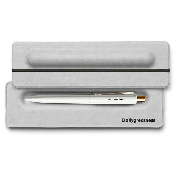 DG04 Pencil Single - White - Dailygreatness Canada