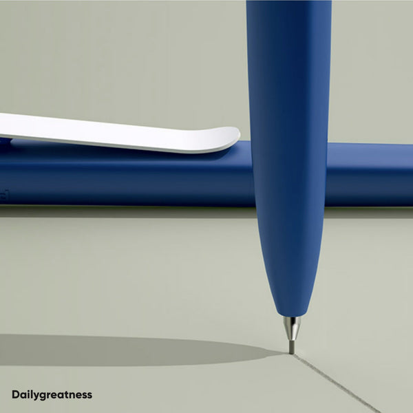 DG03 Pen and Pencil Duo - Orange & Blue - Dailygreatness Canada