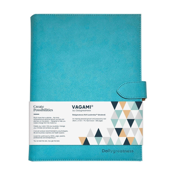 Vagami Self-Leadership™ Planner (Undated) - Dailygreatness Canada
