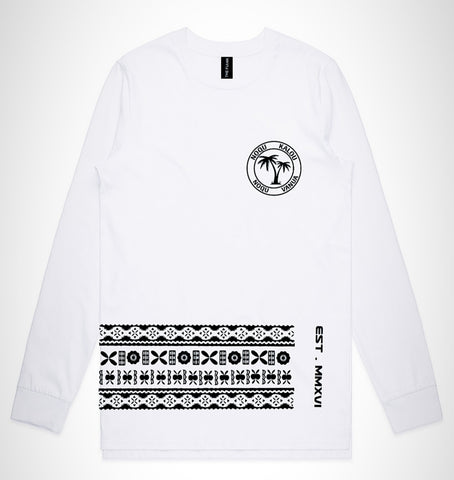 Long Sleeve Tapa Tee
