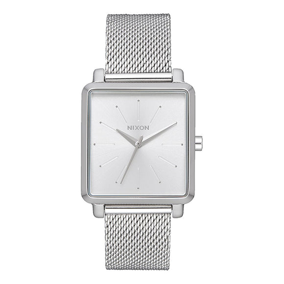 [NIXON ニクソン] 腕時計 K SQUARED MILANESE ALL SILVER 正規輸入品 レディース