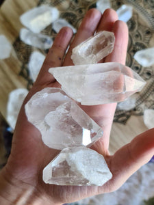 Quartz Points Lot 1kg-Oddball Crystals