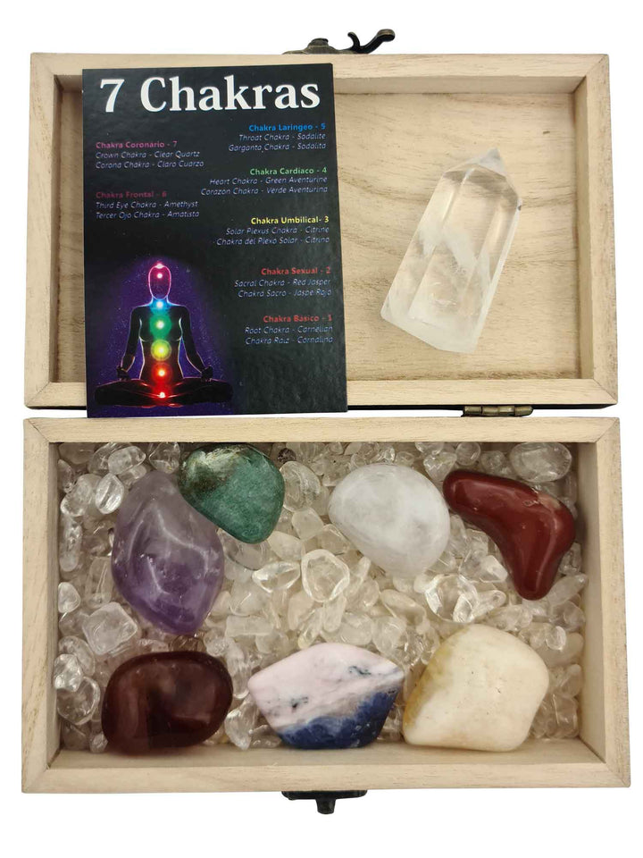 Treasure Box 7 Chakras Bundle-bundles-Oddball Crystals