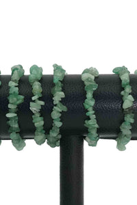 Aventurine Chips Bracelets Pack of 5-Wholesale-Oddball Crystals