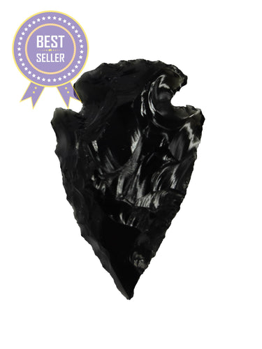 Obsidian Arrowhead 5 pieces-Oddball Crystals