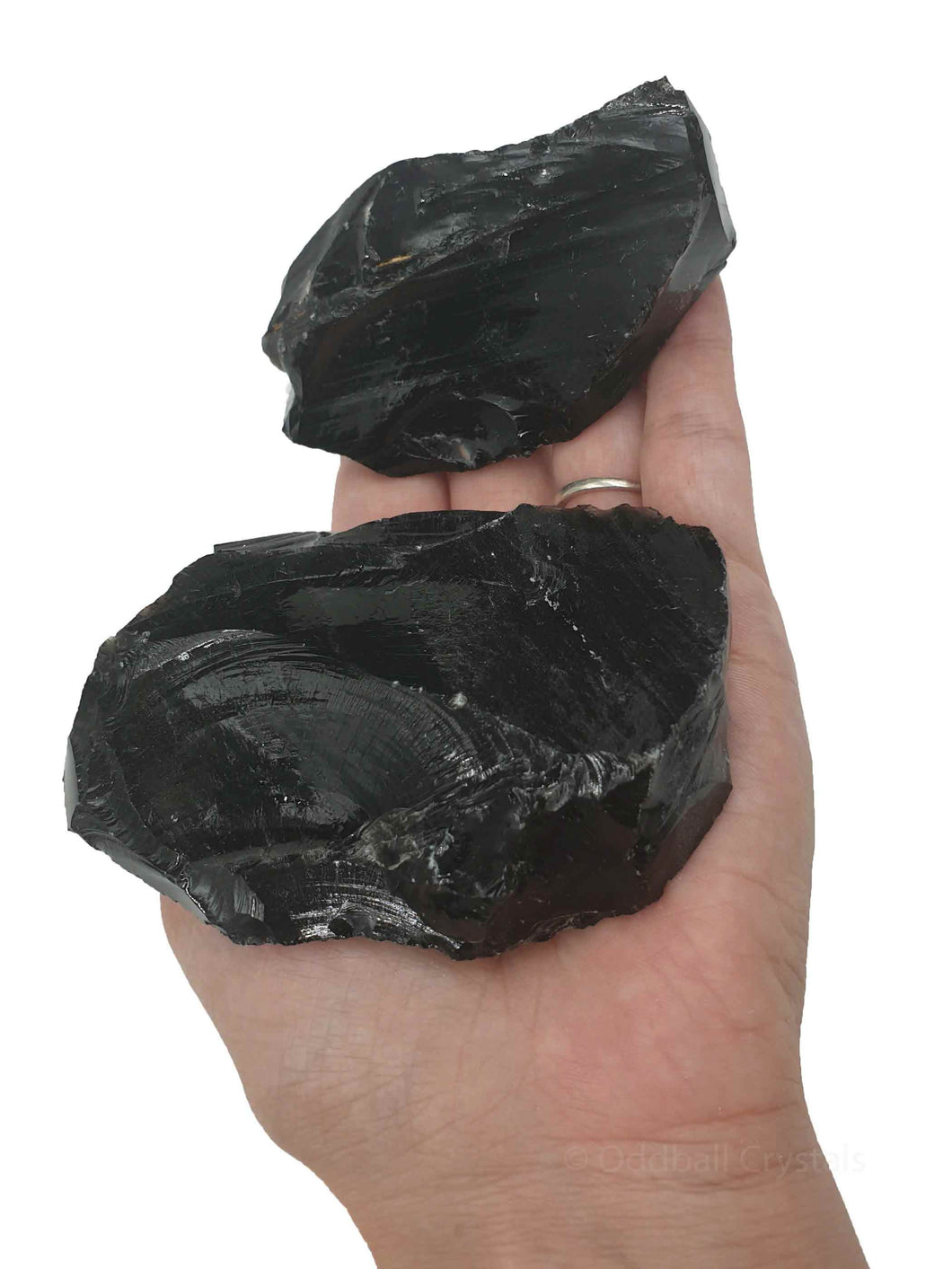 Obsidian Rough 1kg-Oddball Crystals