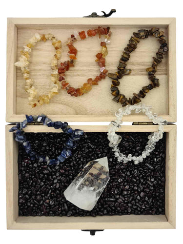 Treasure Box Gratitude Bundle-bundles-Oddball Crystals