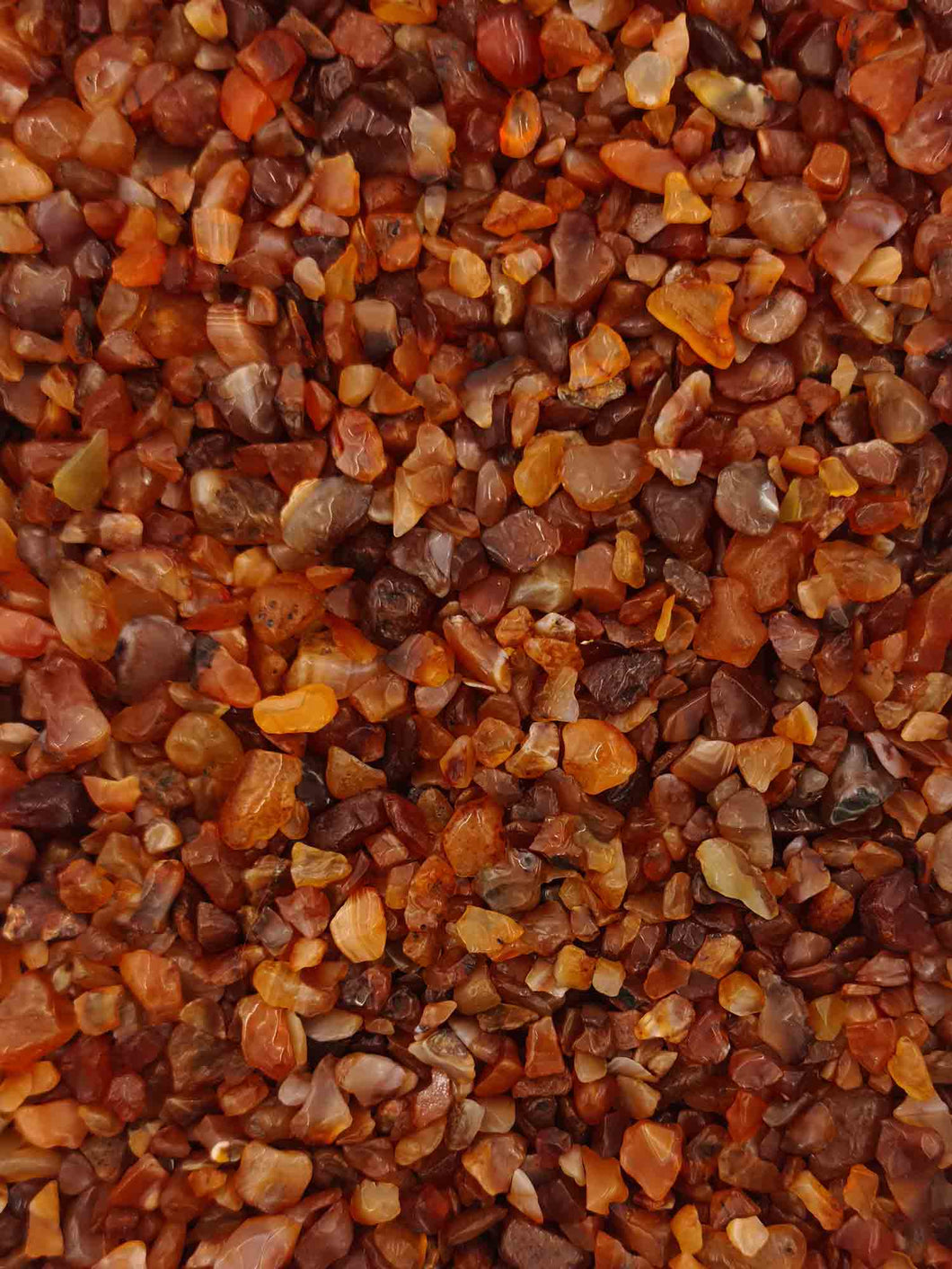 Carnelian Chips 250 grams-Oddball Crystals