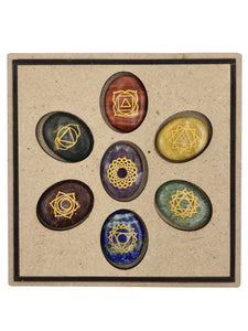 7 Chakras Tree of life Kit-Oddball Crystals