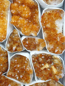 Citrine Wholesale Box-Oddball Crystals