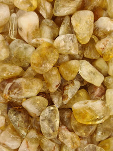 Citrine Tumbles X Large 250 g-Oddball Crystals