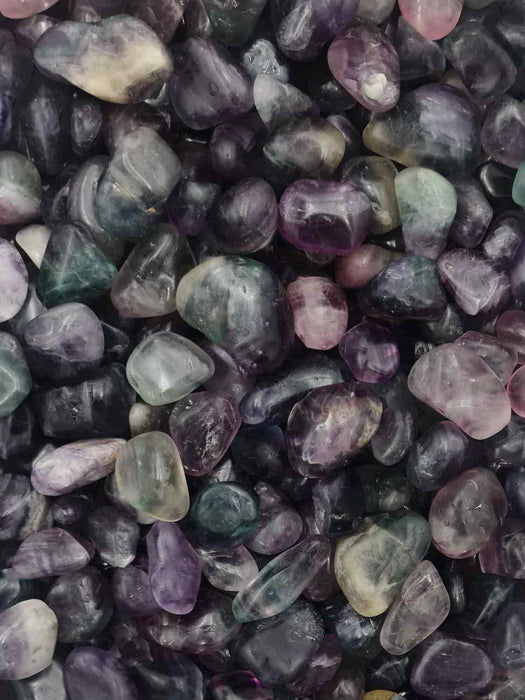 Fluorite Tumbles 250 grams - Large-Oddball Crystals