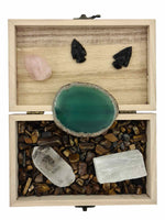 Treasure Box Harmony & Balance Bundle (changed colour agate)-bundles-Oddball Crystals