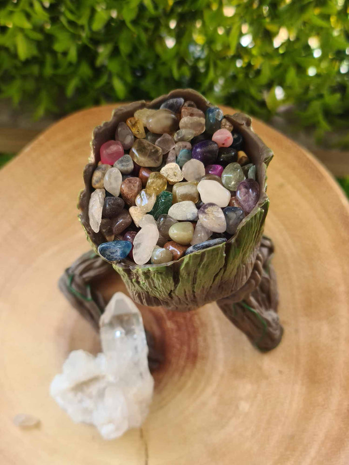 Groot Intention Quartz Cluster Bundle-bundles-Oddball Crystals