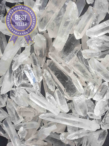 Quartz Gridding Points 250g-Oddball Crystals