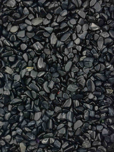 Obsidian Chips 250 grams-Oddball Crystals
