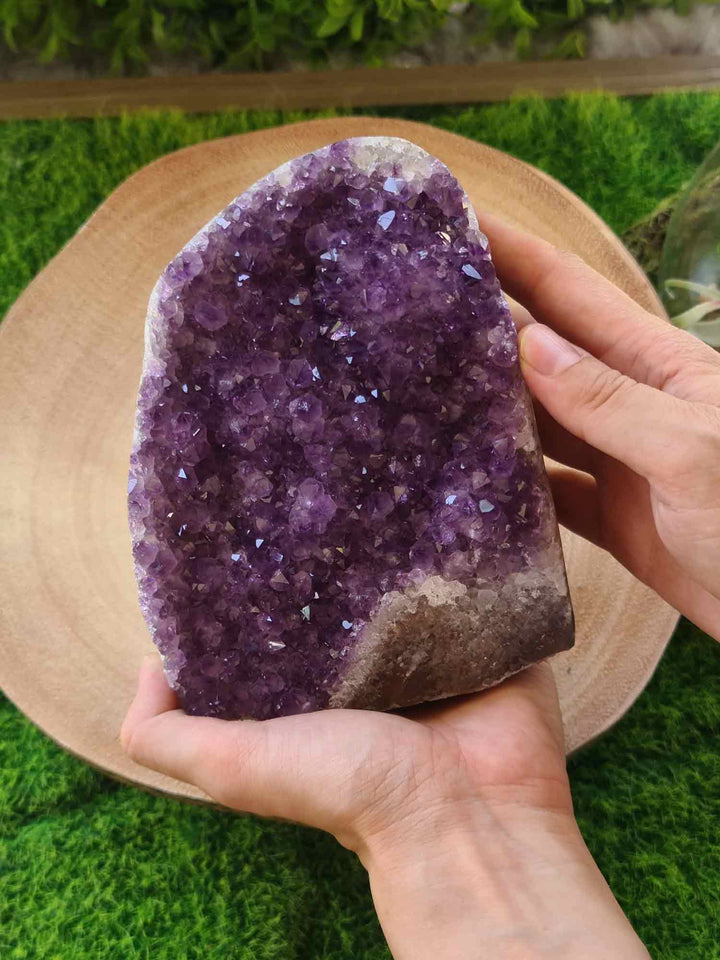 Amethyst Polished Edge 1.53 kg-Oddball Crystals