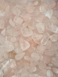 Rose Quartz Tumbles 250g - Medium-Oddball Crystals