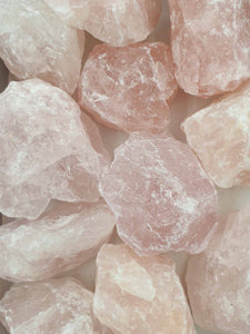 Rose Quartz Rough 1kg