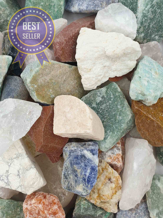 Mixed Rough Crystals 1kg-Wholesale-Oddball Crystals