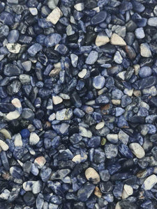 Sodalite Chips 250 grams-Oddball Crystals