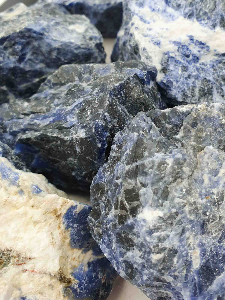Sodalite Rough 1kg-Wholesale-Oddball Crystals