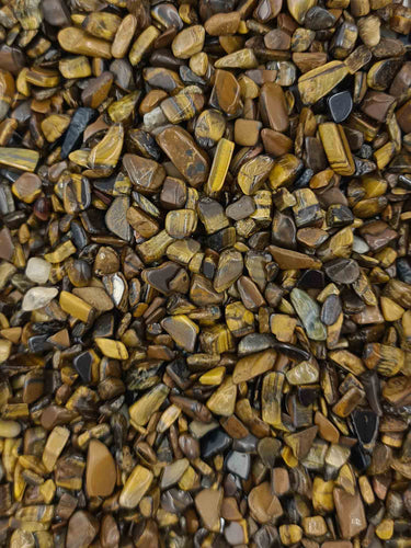 Tigers Eye Chips 250 grams-Oddball Crystals