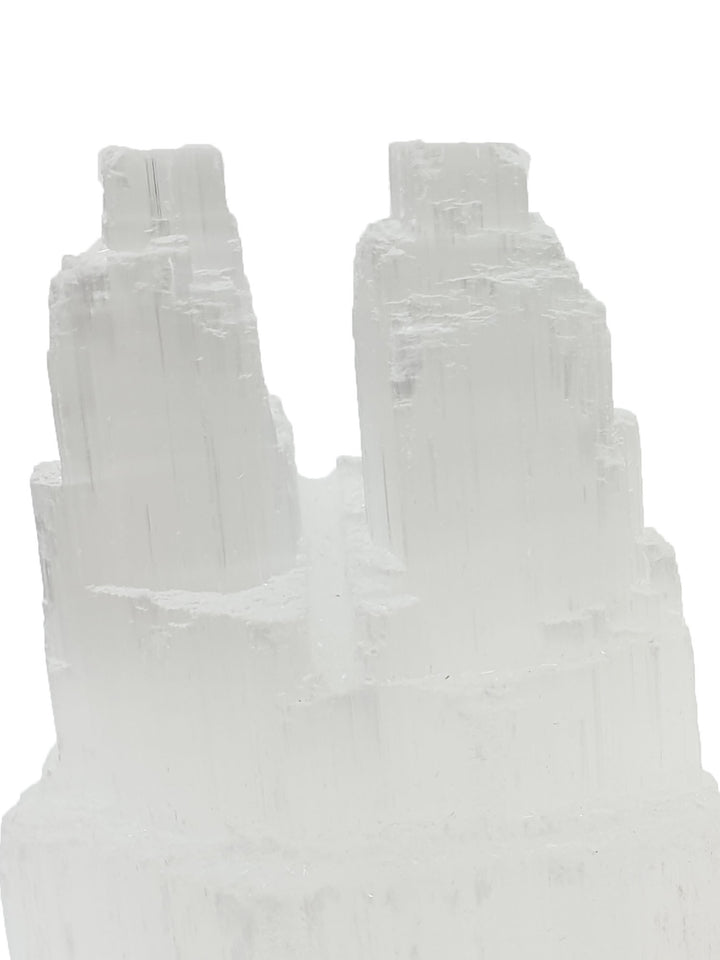 Selenite Twin Towers - 2 Pieces-Oddball Crystals