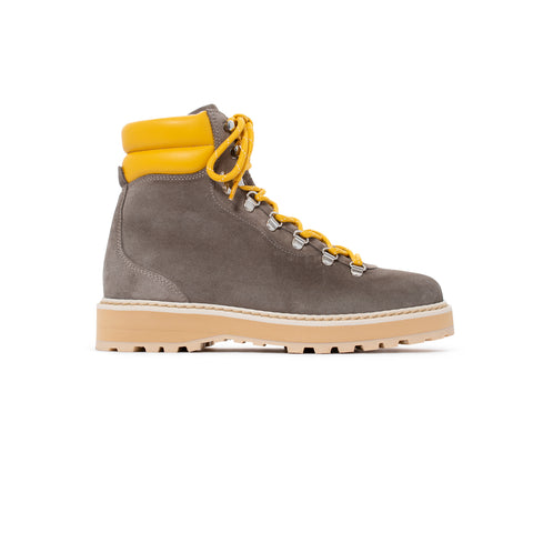 Hiking - Shearling - Smoke / Yellow