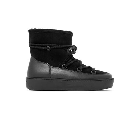 Summit Boot - Leather - Suede - Black Black