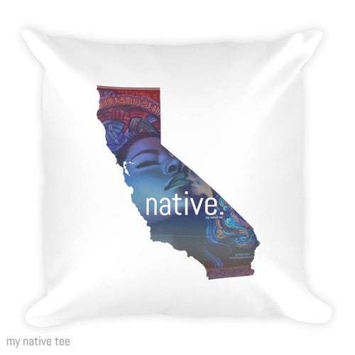 California Native Pillow My Native Tee
