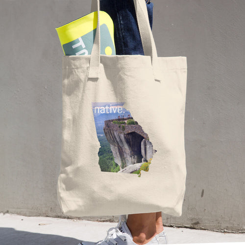 The Georgia  Native Cotton Tote Bag