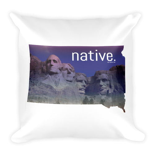 South Dakota Native Pillow