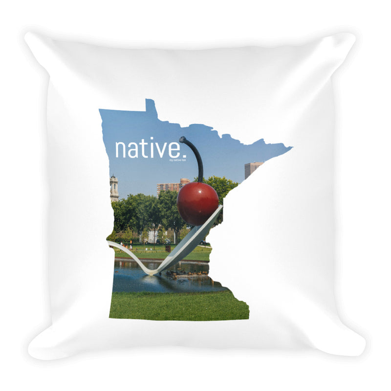 Minnesota Native Pillow