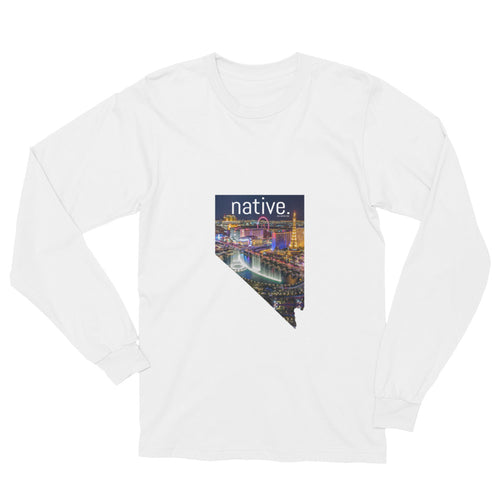 Nevada Native Long Sleeve Tee