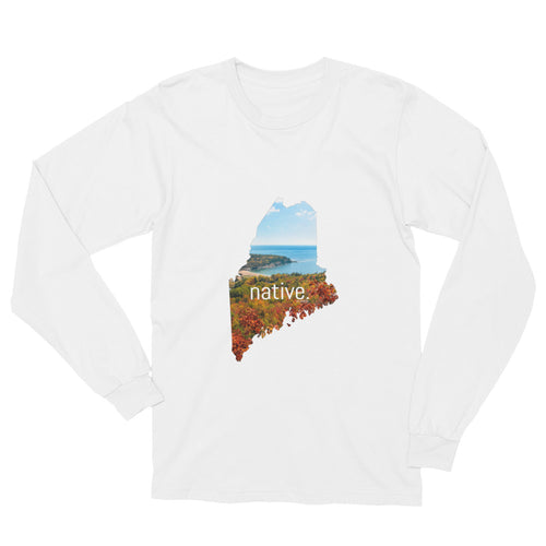 Maine Native Long Sleeve Tee