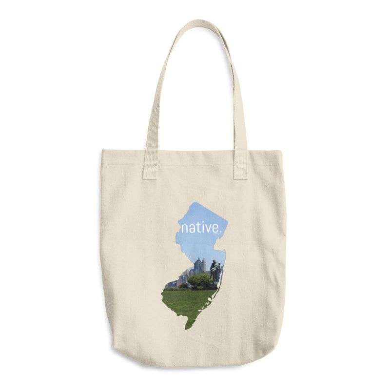 New Jersey Native Cotton Tote Bag