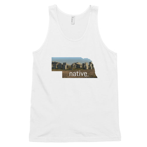 Nebraska Native Men's Tank Top