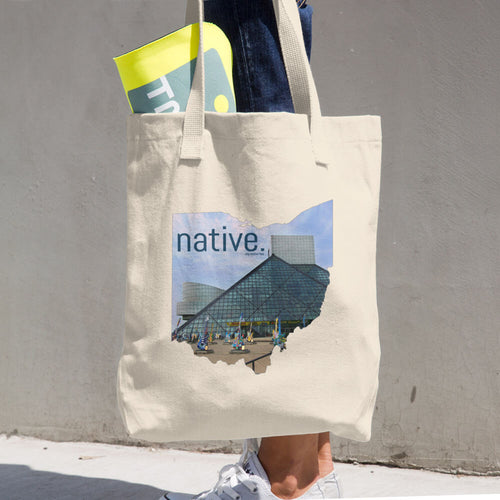 Ohio Native Cotton Tote Bag