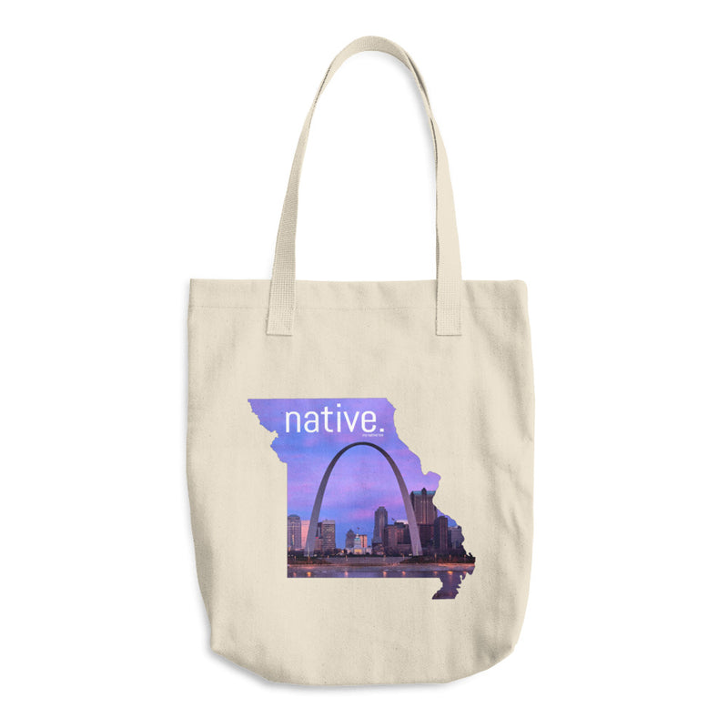 Missouri Native Cotton Tote Bag