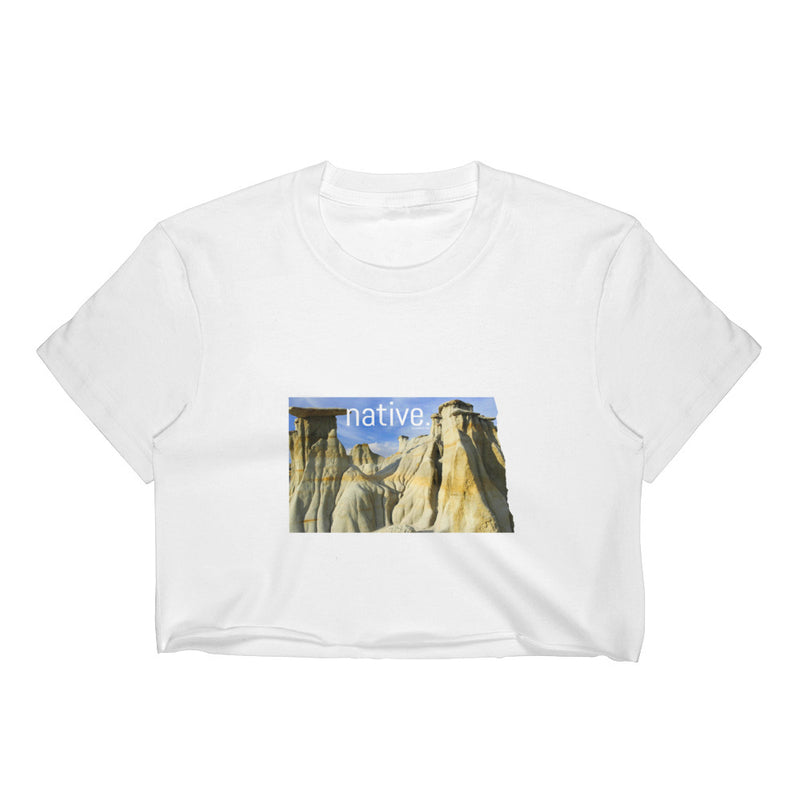 North Dakota Native Women's Crop Top