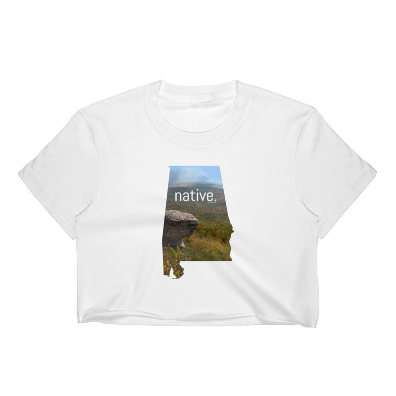 Alabama Native Women's Crop Top