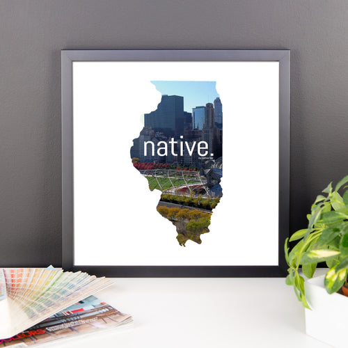 Illinois Native Canvas