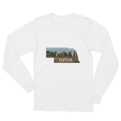 Nebraska Native Long Sleeve Tee
