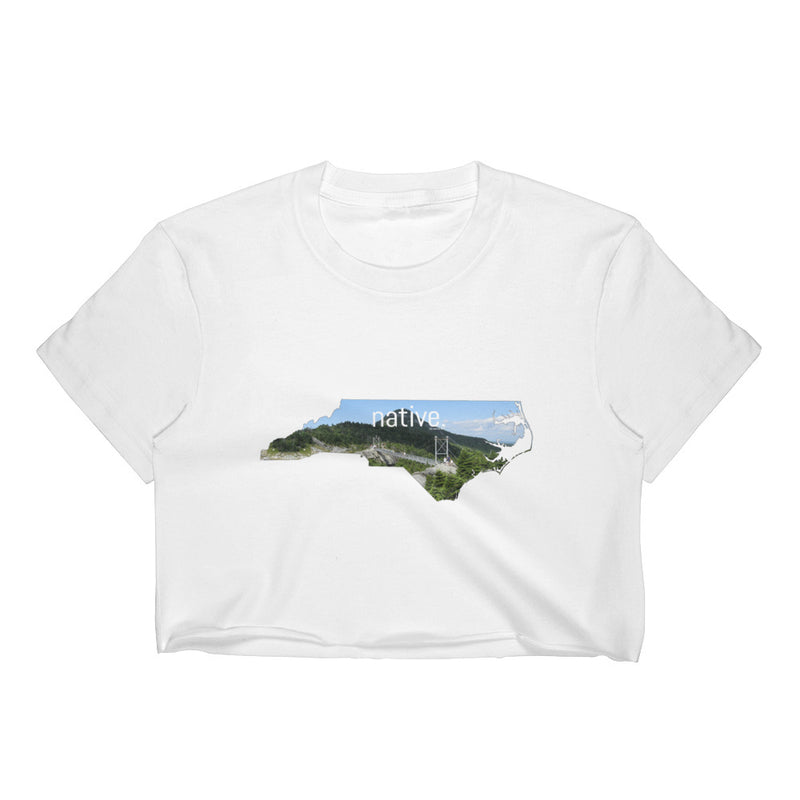 North Carolina Native Women's Crop Top