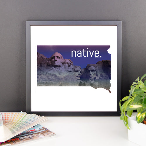 South Dakota Native Canvas
